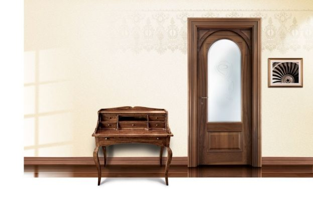 cửa gỗ óc chó