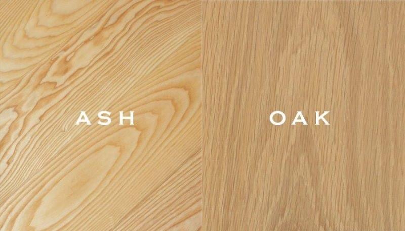 gỗ oak và gỗ ash
