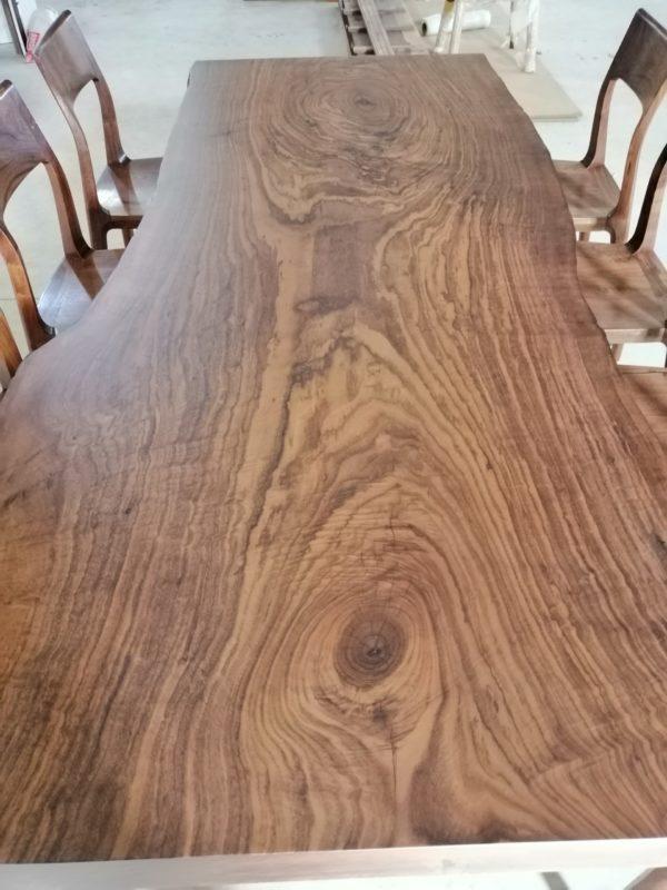 bàn gỗ óc chó nguyên tấm