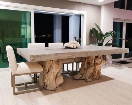 Chân bàn gôc cây đẹp