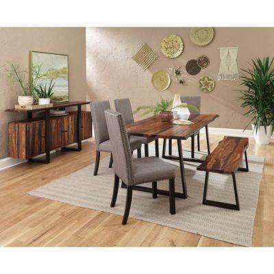Ghế băng dài bằng gỗ Lim