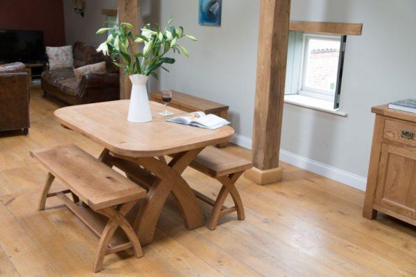 Ghế băng dài từ gỗ Sồi