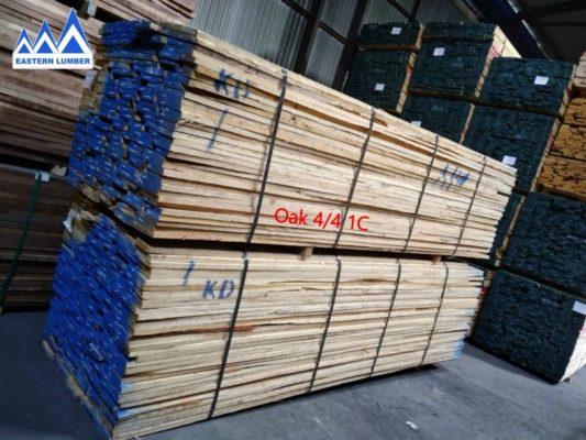 bảng giá gỗ sồi Mỹ